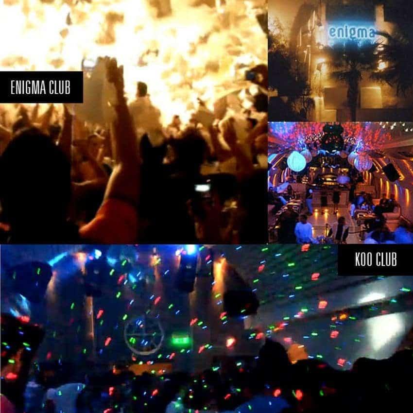 Clubbing in Fira