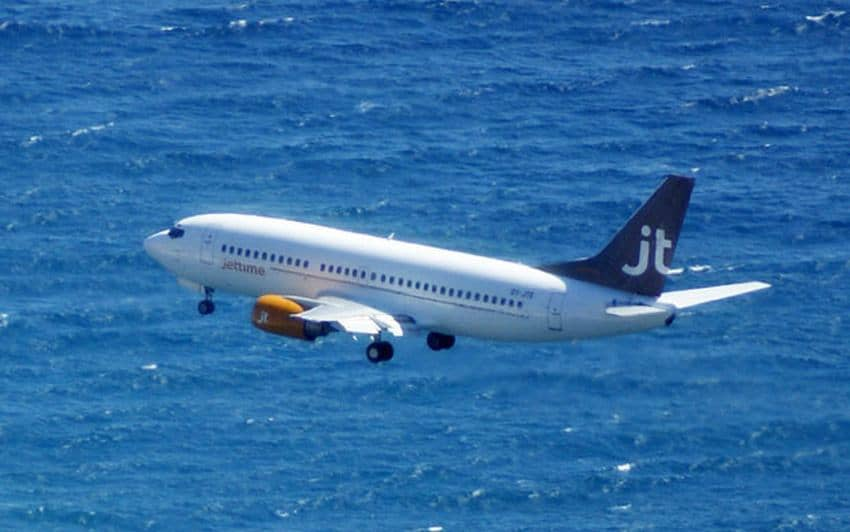 Το αεροδρόμιο της Σαντορίνης (JTR)
