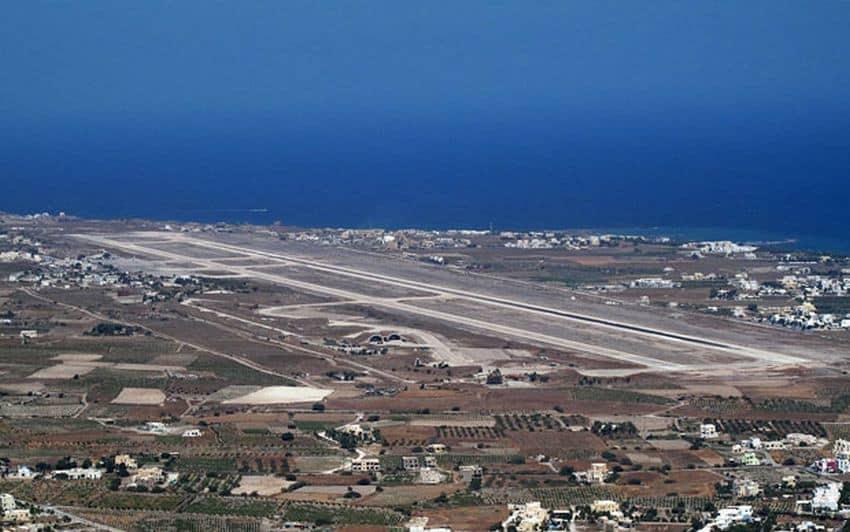 αεροδρόμιο της Σαντορίνης
