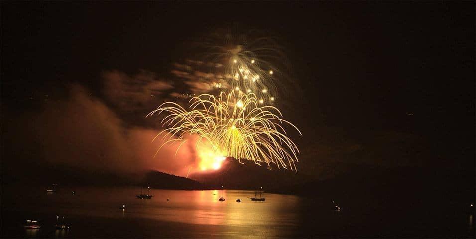 Εικονική Έκρηξη του Ηφαιστείου της Σαντορίνης