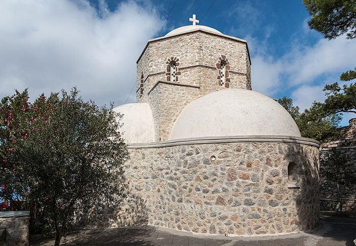 The Monastery of Profitis Ilias in Pyrgos