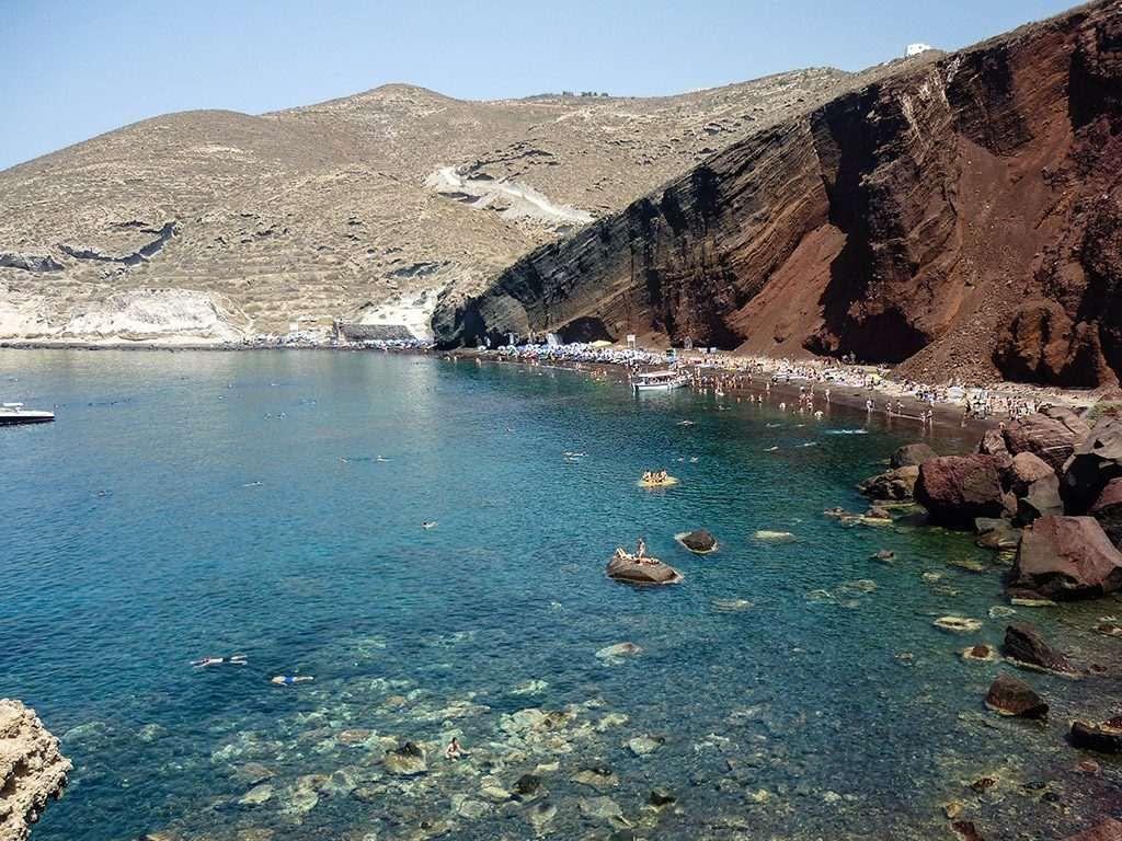 Where to Swim in Santorini – The Complete List