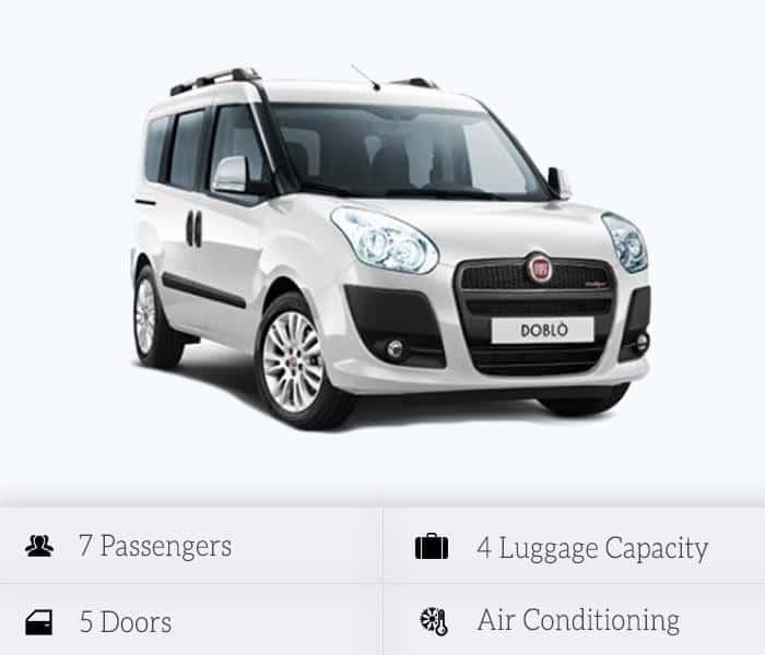 Fiat Doblo 7 seats (manual)