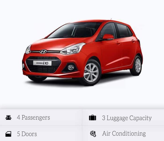 Στόλος αυτοκινήτων προς ενοικίαση: Hyundai I-10 or Similar
