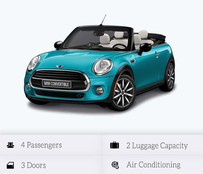 Mini Cooper Convertible (automatic)