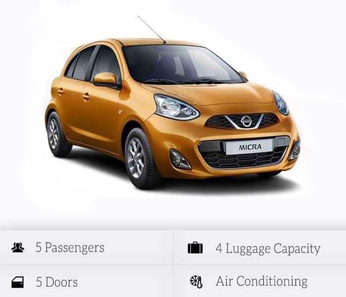 Στόλος αυτοκινήτων προς ενοικίαση: Nissan Micra or Similar