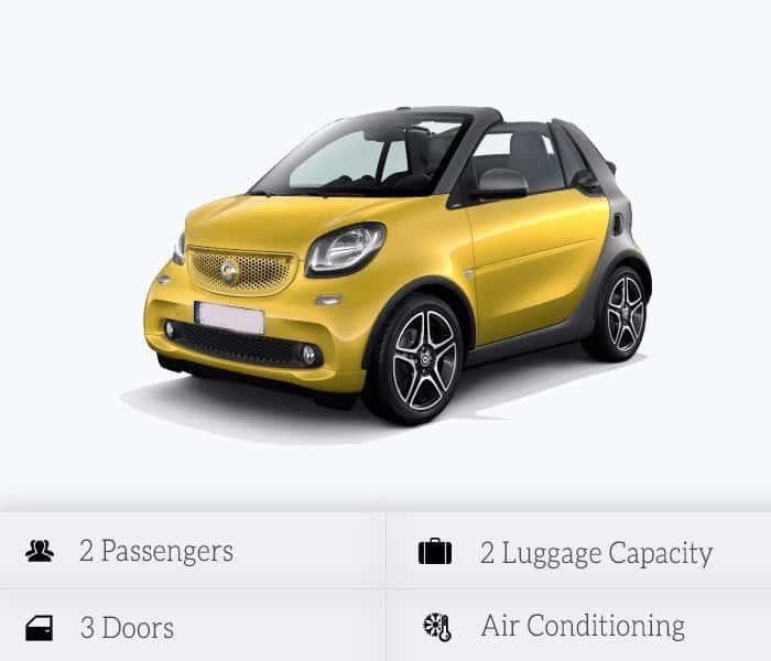 Smart Cabrio (automatic)