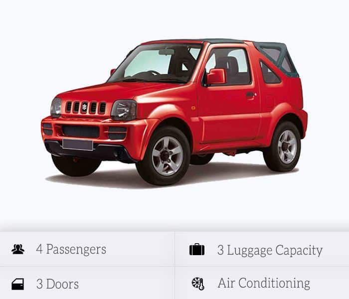 Suzuki Jimny Cabrio (manual)