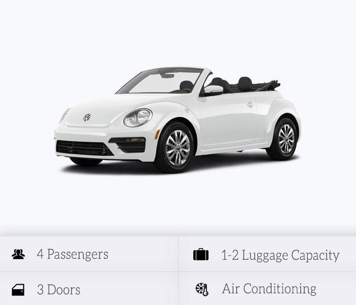 VW Beetle Vintage Cabrio 2018 (Automatic)