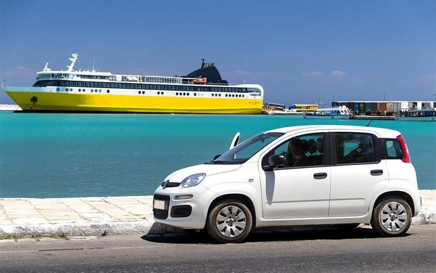 Ενοικίαση Αυτοκινήτου στο Λιμάνι Σαντορίνης